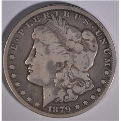 1879-CC MORGAN DOLLAR  FINE