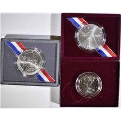 LOT OF 3 UNC U.S. COMMEM COINS