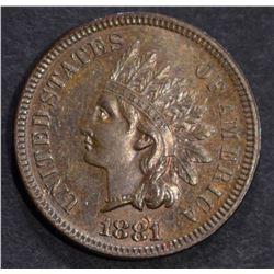 1881 INDIAN CENT CH/GEM PROOF