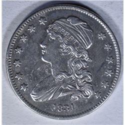 1831 CAPPED BUST QUARTER  AU+