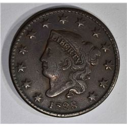1829 LARGE CENT  VF/XF