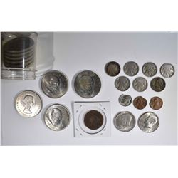 COLLECTOR LOT:  10- CHURCHILL COINS,