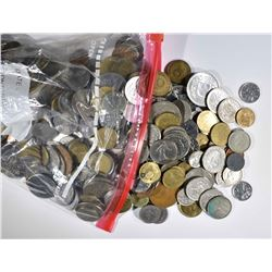 OVER 3 LBS FOREIGN COINS