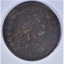 1795 FLOWING HAIR HALF DOLLAR FINE