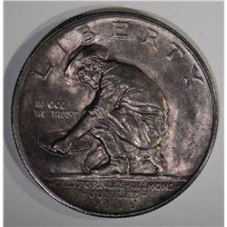 1925-S CALIFORNIA COMMEM HALF DOLLAR  CH BU