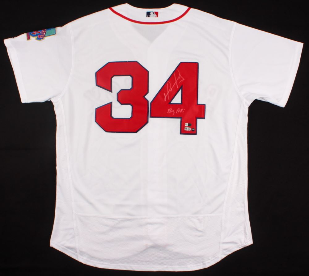 6bf6479e72b Image 1   David Ortiz Signed Red Sox Jersey Inscribed