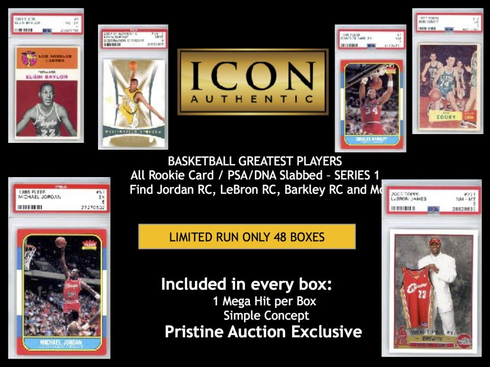 Icon Authentic Basketball All Rookie Card