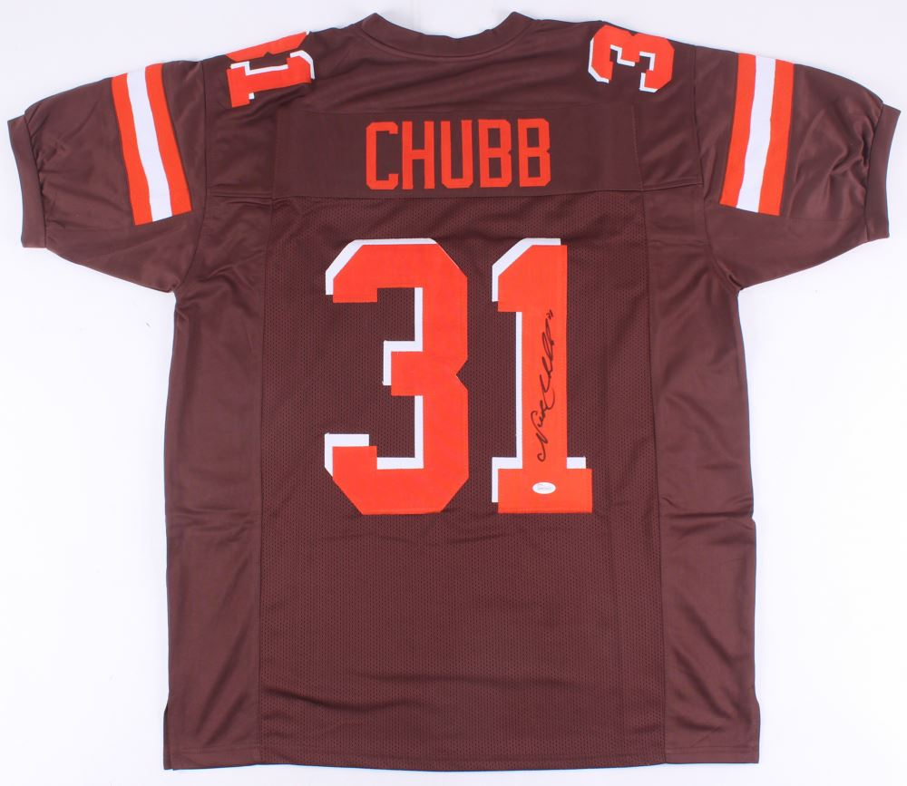 b961f0c8c76 Image 1 : Nick Chubb Signed Browns Jersey (JSA COA)