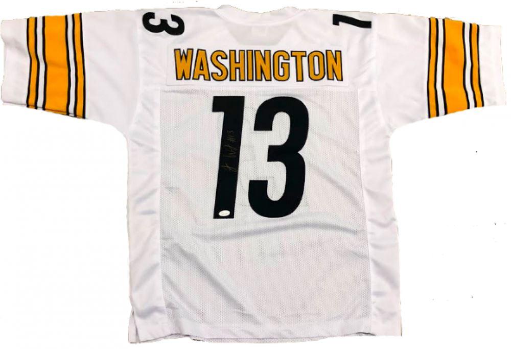 save off ffb3a 009dc James Washington Signed Steelers Jersey (JSA COA)