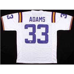 half off 32650 133ad Jamal Adams Signed LSU Tigers Jersey (JSA COA)
