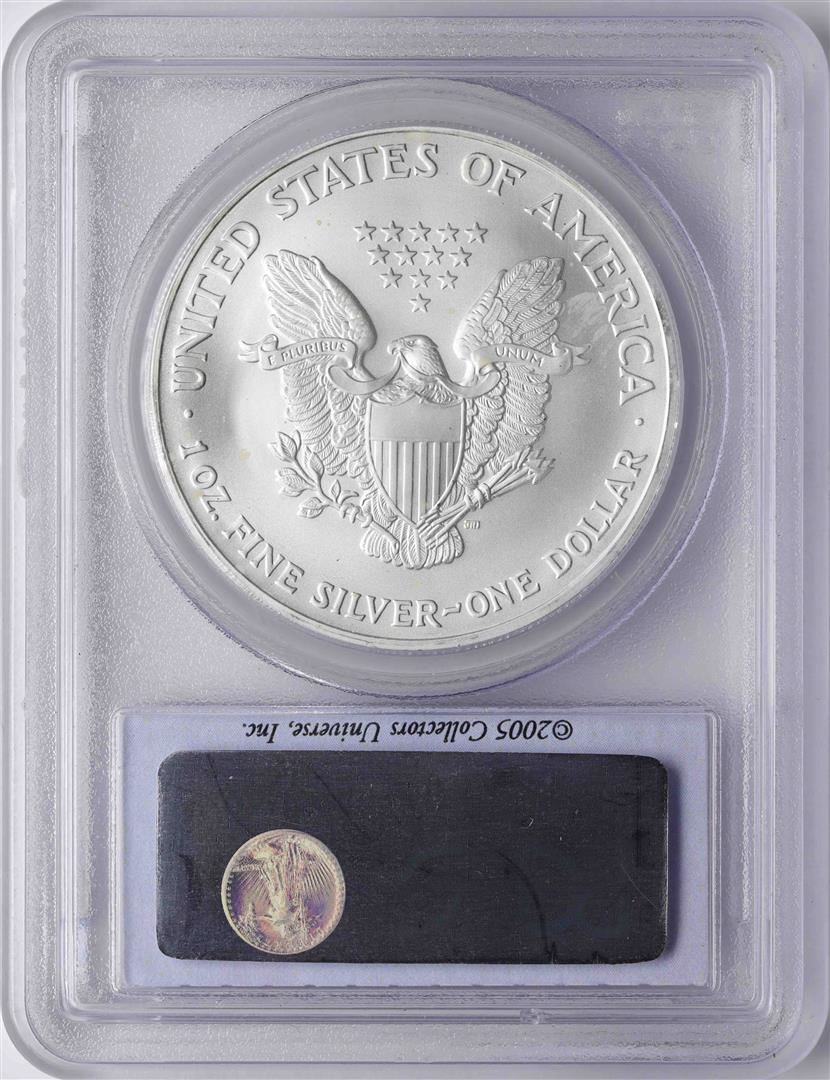 2005 PCGS MS-69 First Strike American Silver Eagle   ~ NO RESERVE ~
