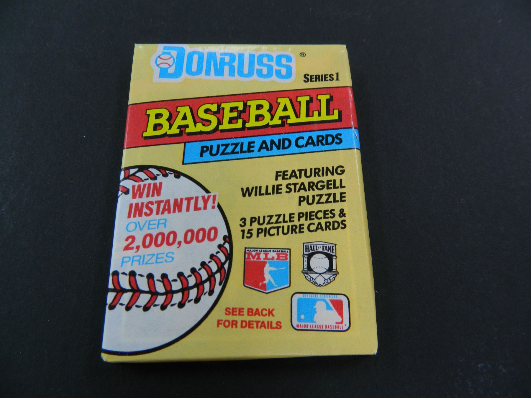 Six 6 Unopened Packs Of 1991 Donruss Baseball Cards 15