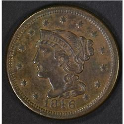 1846 LARGE CENT  AU