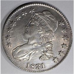 1831 CAPPED BUST HALF DOLLAR  BU