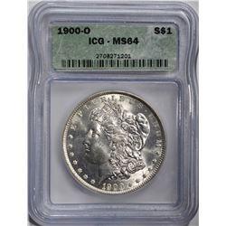 1900-O MORGAN DOLLAR  ICG MS64