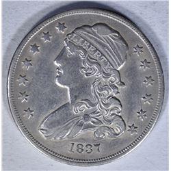 1837 CAPPED BUST QUARTER  AU