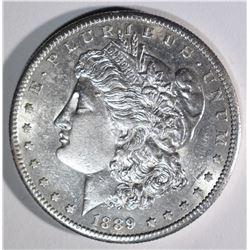 1889-S MORGAN DOLLAR CHBU