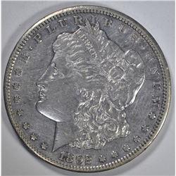 1892-CC MORGAN DOLLAR  XF-AU