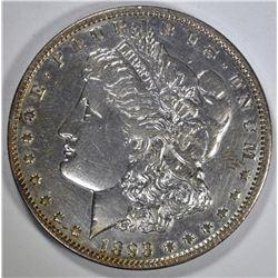 1893-O MORGAN DOLLAR  AU