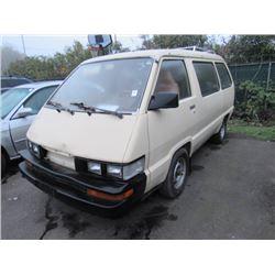 1986 Toyota Van