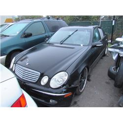 2004 Mercedes-Benz E500