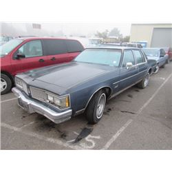 1984 Oldsmobile Delta Eighty-Eight Royale