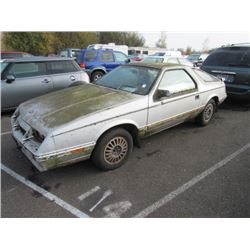 1985 Chrysler Laser