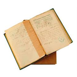 HISTORIC BOOK OF ARMY TELEGRAMS RELATING TO THE INDIAN WARS AFTER THE CUSTER MASSACRE