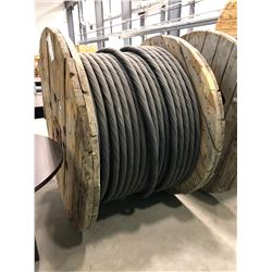 Spool 3C #4 AWG 15KV SHD-GC Unjacketed