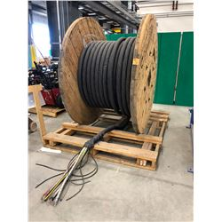 Spool 3C - 4/0 AWG 15KV SHD-GC Unjacketed