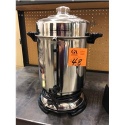 Hamilton Beach 60 cup coffee pot Model D50065C, Proctor Silex 100 cup coffee pot Model 45100