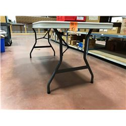 6' folding table (table only)