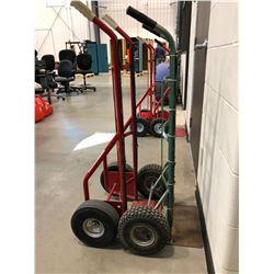 Dayton red wheeler model 3W087H, red wheeler