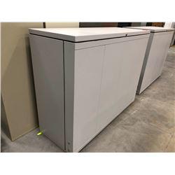 "Alltech Light Grey Blueprint Storage Cabinet 55"" x 22 1/4"" x 42"""