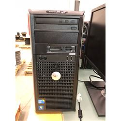 "Dell tower Optiplex No power cord or hard drive, Dell 23"" LED monitor Model P2311HB comes with power"