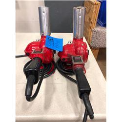 Qty 2 Master Heat Gun Model HG-301A