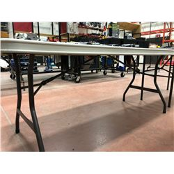 Plastic Collapsible Table 72 x 30 x 29 (table only)