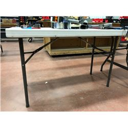 Lifetime Plastic Collapsible Table 48 x 34 x 29 (table only)