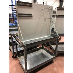 "Rolling parts cart 36"" x 24""X 60"" (cart only)"
