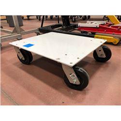 Rolling platform heavy duty casters