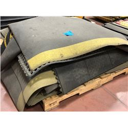 Assorted anti fatigue matting and floor runners