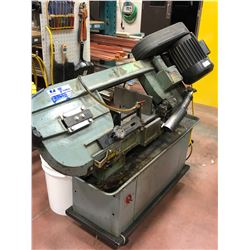 SPEEDER bandsaw Mod RF-712 85 to 235 fpm c/w A-10 Coollube, on casters, c/w 3 spare blades