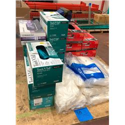 Assorted Nitrile gloves 18 boxes, approx. 30 bags assorted nitrile gloves