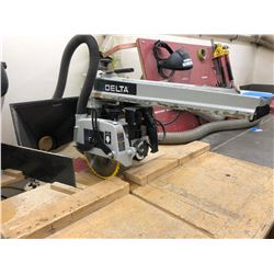 "Delta radial arm saw 10"" 1 1/2Hp"