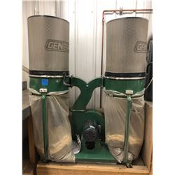 Dust collector c/w reusable cannister filters