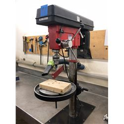 Westward floor drill press 1/2 hp mod DP170F c/w e-stop and material clamp