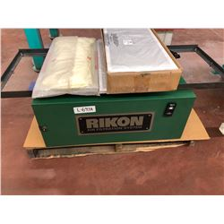 Rikon Industrial Air Filtration System Model 61-200 for Metal or Woodworking Shops includes new filt