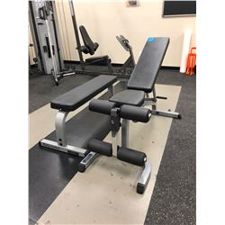 Body Solid - 1 fixed bench, 1 adjustable bench