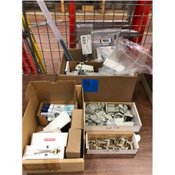 Miscellaneous Weller accessories, assorted terminal blocks/fuse holders, multipin connectors