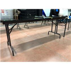 "6' x 30"" x 29""  foldable wooden table (table only)"